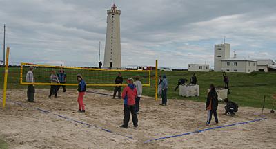 Strandblakvöllur Garðinum / Beach Volley court